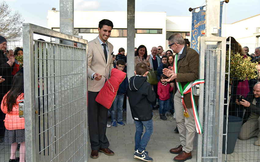 Inaugurazione scuola dell'infanzia Montechiarugolo realizzata da Bucci Spa