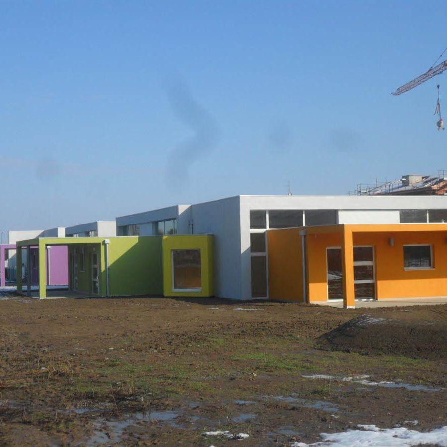 Scuola materna di Vicofertile realizzata da Bucci Spa