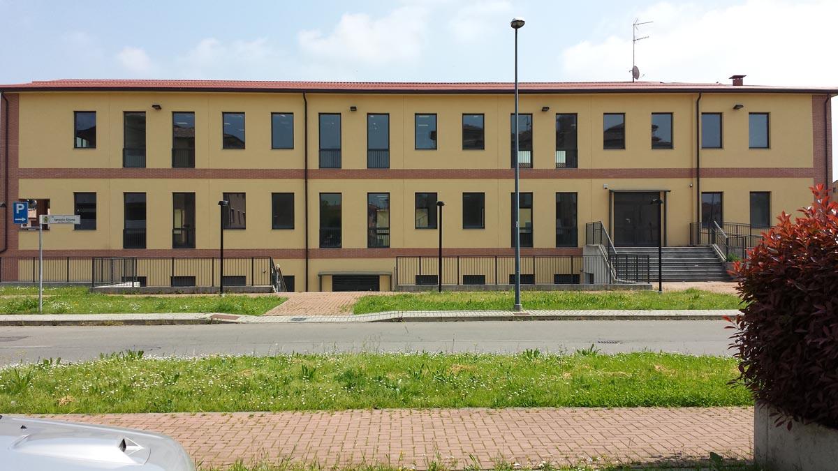 Centro polifunzionale a Noceto realizzato da Bucci Spa