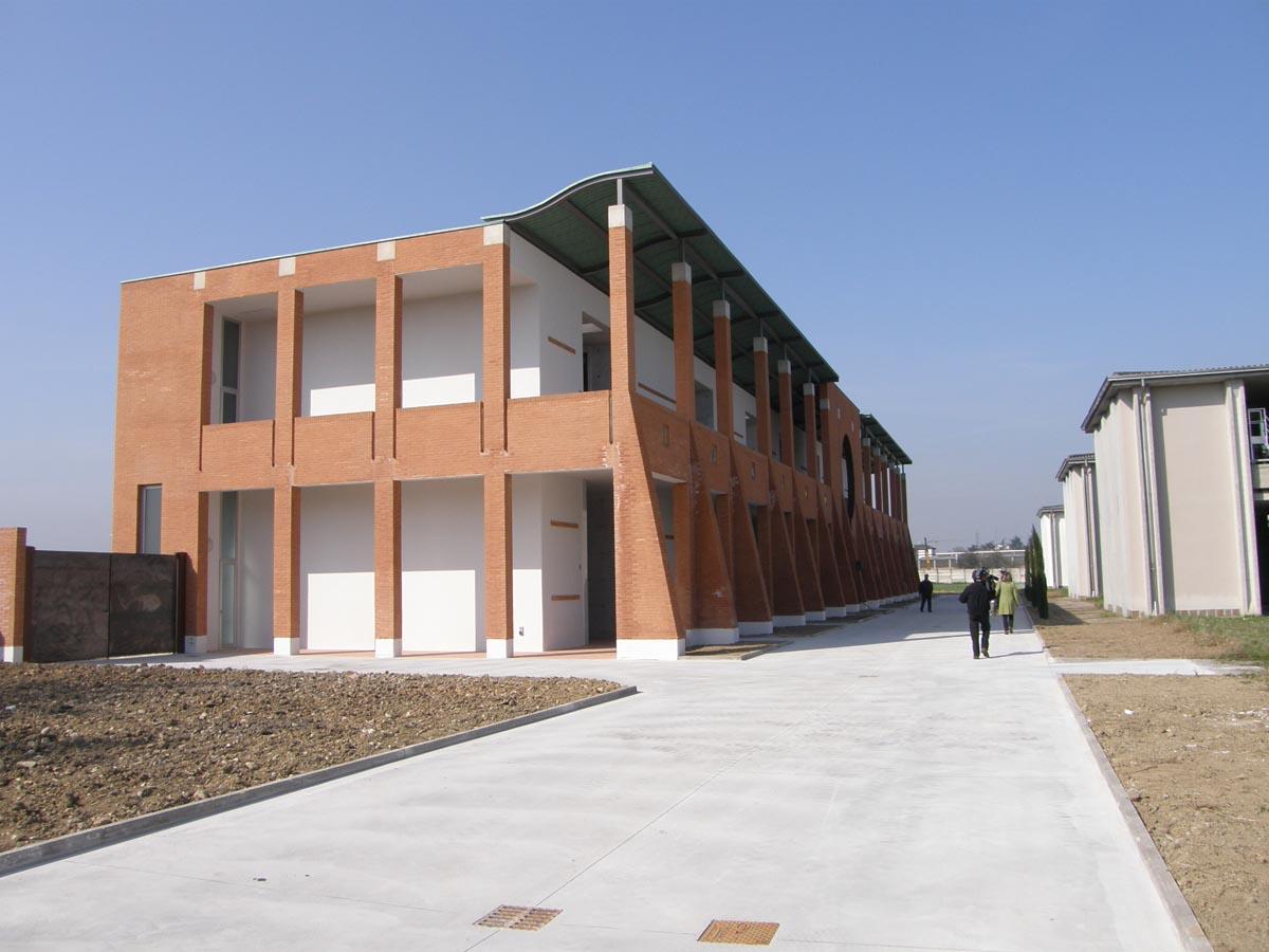 Cimitero Villetta a Parma realizzato da Bucci Spa