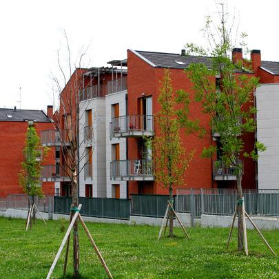 Condominio Corte Castello a Felino realizzato da Bucci Spa