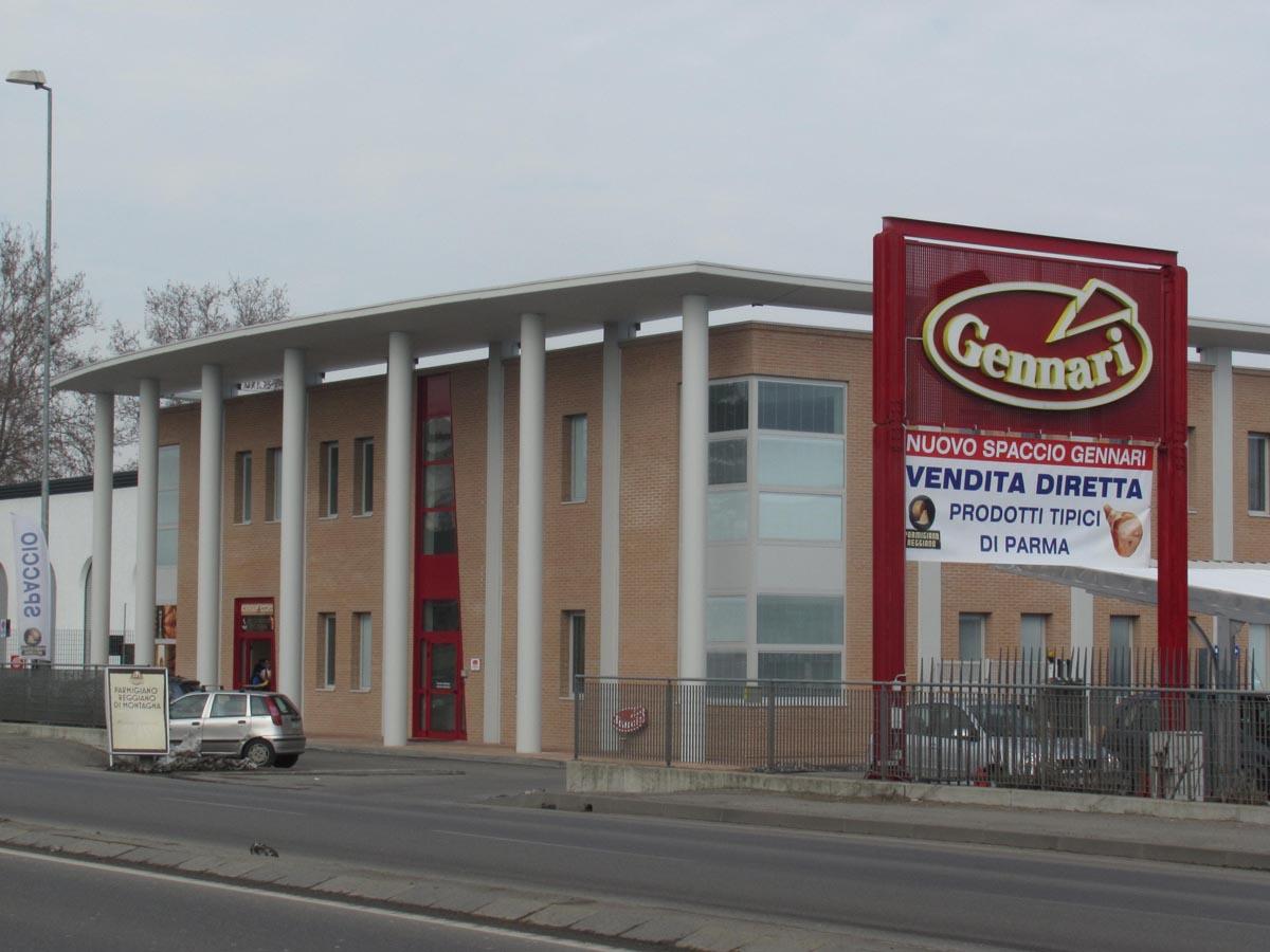 Sede Gennari Vittorio Spa a Parma realizzata da Bucci Spa