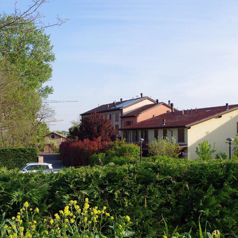 Condominio Mulino del Picco a Carignano realizzato da Bucci Spa