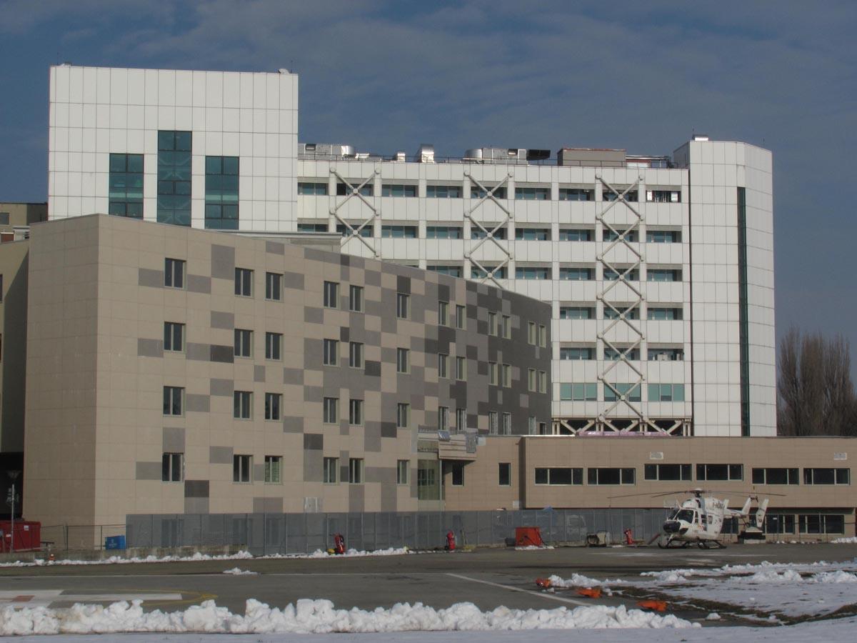 Ospedale Maggiore di Parma realizzato da Bucci Spa