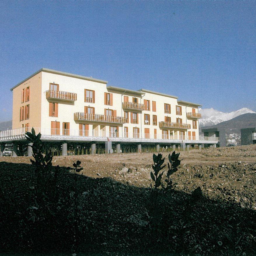 Ricostruzione post sisma a L'Aquila realizzata da Bucci Spa