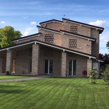 Villa privata a Alberi realizzata da Bucci Spa