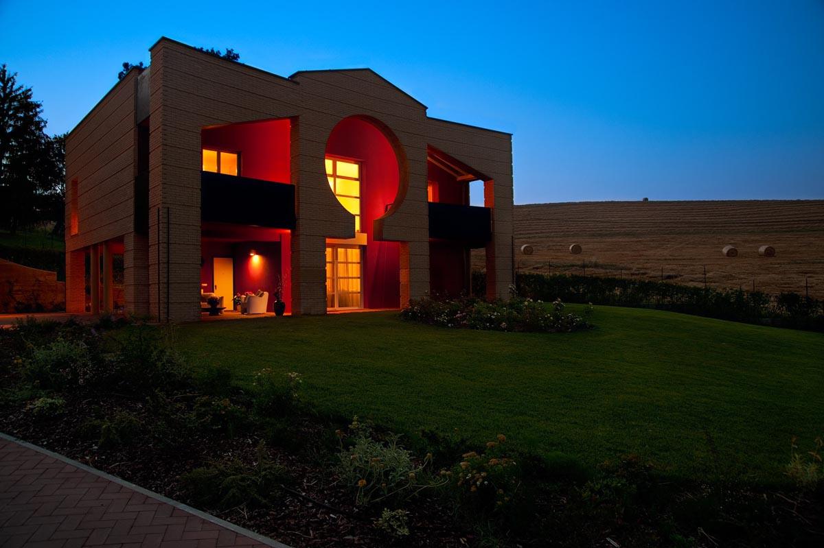 Villa privata a Langhirano realizzata da Bucci Spa