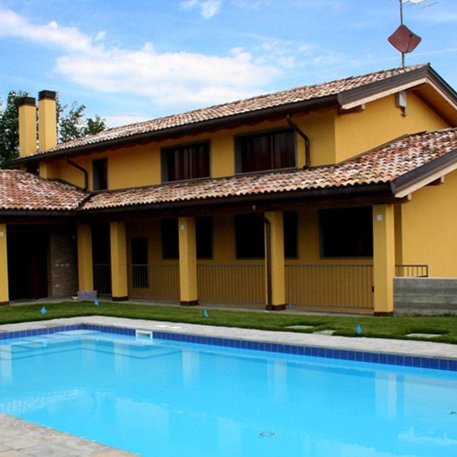 Villa privata a Parma realizzata da Bucci Spa