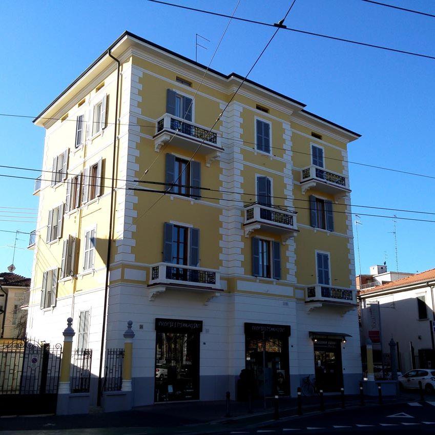 Condominio Vittorio Emanuele a Parma realizzato da Bucci Spa