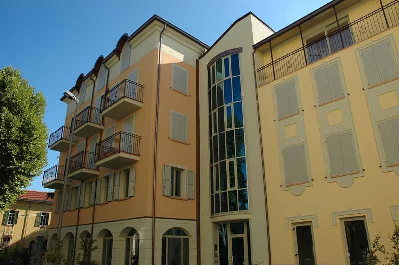 Condominio Il Borgo a Langhirano realizzato da Bucci Spa