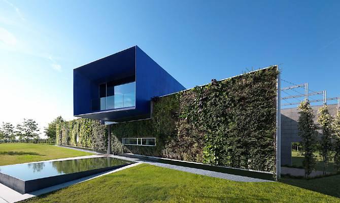 Giardino verticale Casa Blu