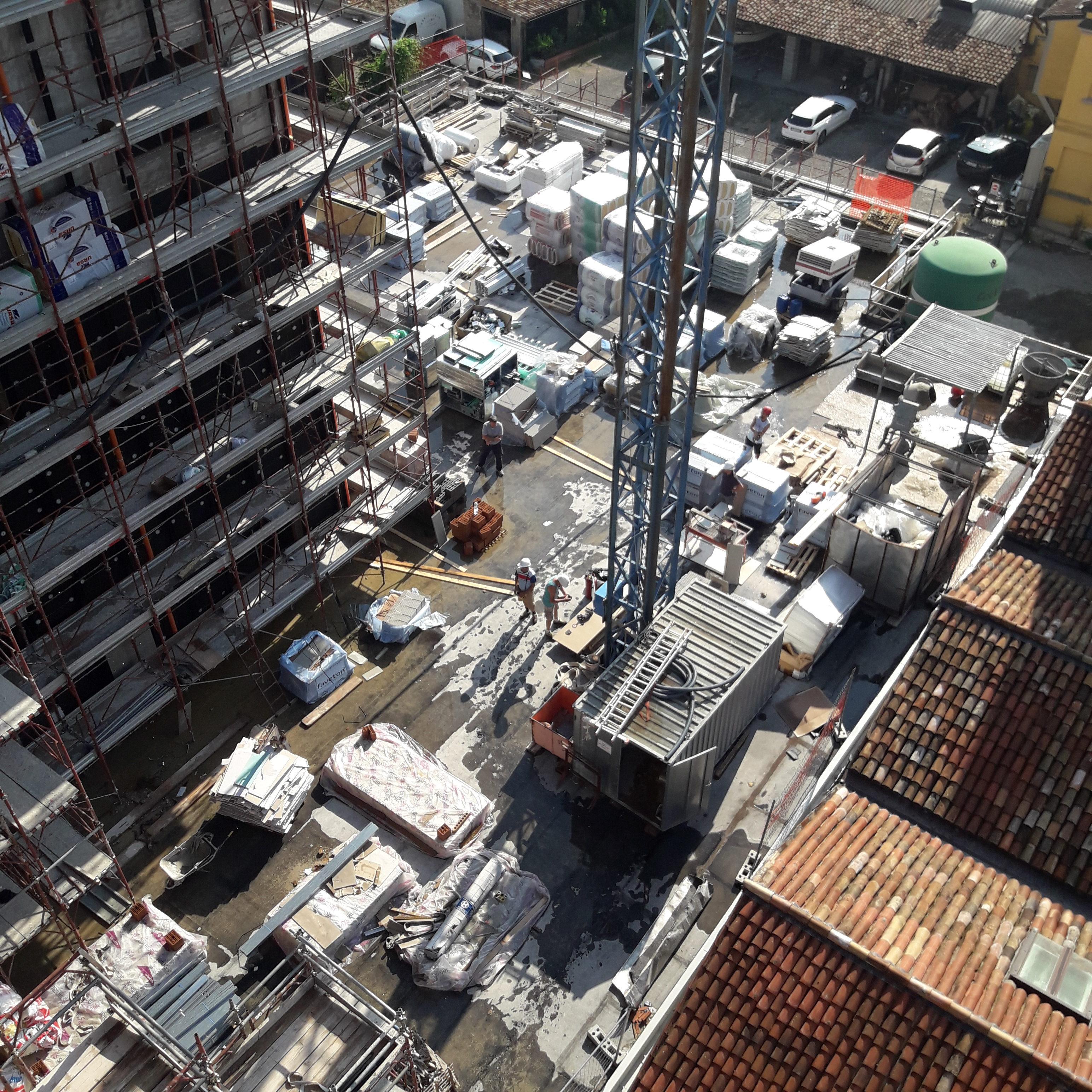 Ristrutturazione Novotel Parma Centro